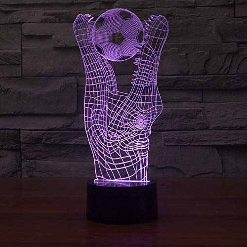 Krokodil Biss Ball Tischlampe Für Schlafzimmer Kreative Student Gift 3D Tischlampen Visuelle Stereoskopische Bunte Schreibtischlampe Spielzeug -