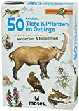 moses. Expedition Natur - 50 heimische Tiere und Pflanzen im Gebirge| Bestimmungskarten im Set | Mit spannenden Quizfragen