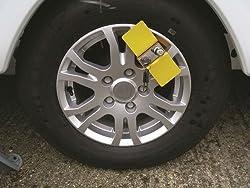 Milenco Parkkralle für AL-KO-Fahrgestell