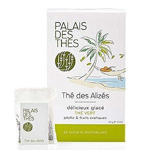 Palais Des Thés - Thé Vert Thé Des Alizés - 20 Sachets Mousselines