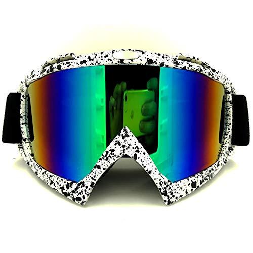L.Z.H Brille Motorradbrillen, Ritter Langlaufbrillen Brillen Sportbrillen für Radfahren, Angeln, Jagd Gläser (Color : Schwarz, Size : One Size) -