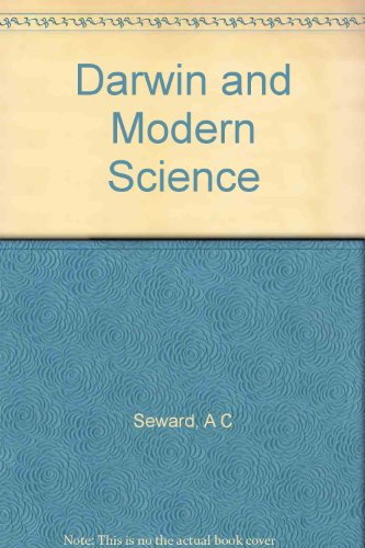 Darwin and Modern Science par A C Seward