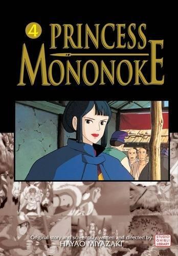 PRINCESS MONONOKE FILM COMIC GN VOL 04: v. 4 por Saki Hiwatari
