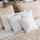 #9: The Home Talk 100% Premium Quality Square Cushion fillers / Pillow / Inserts For Sofa ( 12 inch x 12 inch ) Set Of 5 Soft & Fluffy Comfort