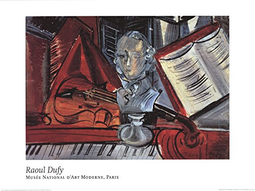 raoul-dufy-homage-to-mozart-1993poster