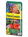 Floragard Blumenerde 20 L • Universalerde • für  Balkon-, Kübel- und Zimmerpflanzen • mit dem Naturdünger Guano