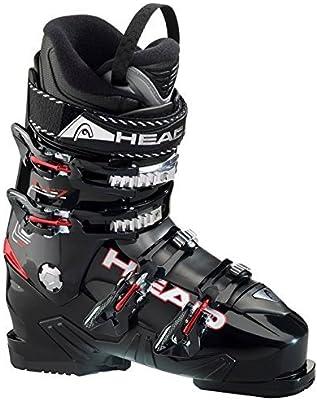 HEAD FX 7 Botas de Esquí de Hombre (Negro, Rojo) Colección 2015