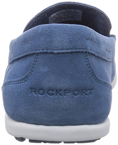 Rockport BL 3 VENETIAN Herren Mokassin Blau (CAMEO BLUE WSH SDE)