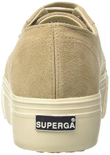 Superga Damen 2790 Suew Sneaker Beige (Beige)