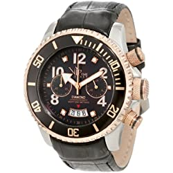 Vip Time Italy Women's VP8016BK Magnum Lady Sporty Chronograph Watch