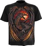 Spiral Dragon Furnace T-Shirt schwarz S
