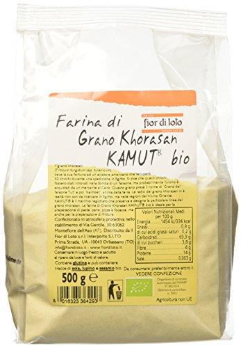 Fior di Loto Farina di Grano Khorasan Kamut - 500 gr