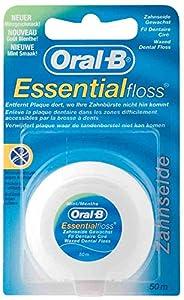 OralB Zahnseide Essentialfloss, 50 m, Minzgeschmack