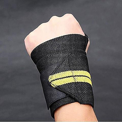 Forfar Handgelenk-Verpackungen Bandage Handstützbügel Gewichtheben Training Fitness Gym Sport