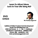 Learn To Attract More Luck In Your Life Using NLP, DVD