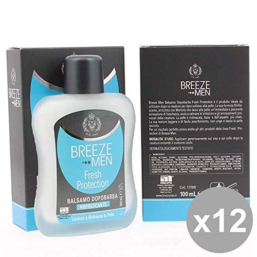 Set 12 BREEZE Men Dopobarba 100Ml Fresh Protection Detergenti e profumi uomo