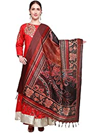 Mrinalika Fashion Cotton Silk Digital Print Dupatta (Dupattas For Womens _Salwar Suit Dgdpt06_Multi-Coloured_Free...