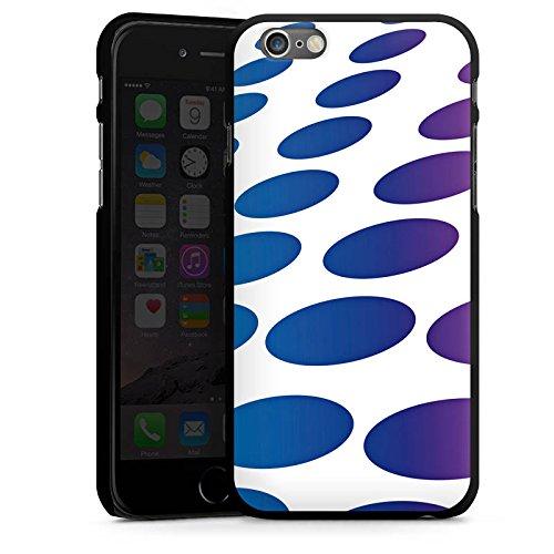 Apple iPhone 5s Housse Étui Protection Coque Points Motif Motif CasDur noir