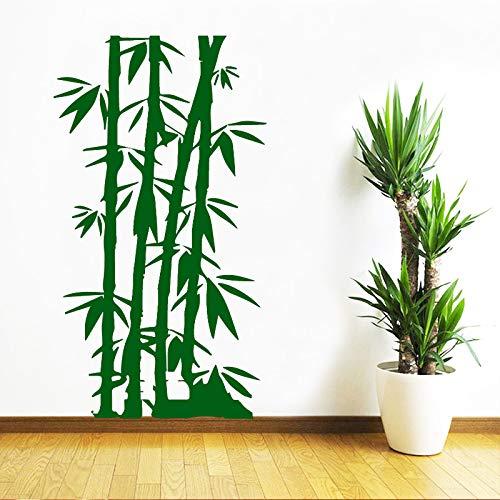 xingbuxin Bambus Familie Wandaufkleber Kunst Wohnkultur Für Kinderzimmer wasserdichte Wandkunst Aufkleber 2 L 43 cm X 72 cm