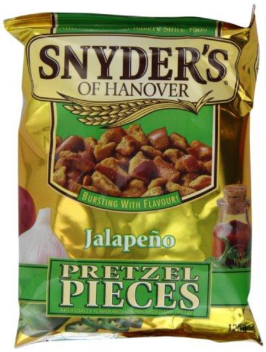 Snyder's Jalapeno Pretzel Pieces 125g, 10 Pack