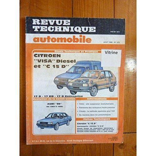 Rta-revue Techniques Automobiles - VISA C15 Die Revue Technique Citroen Etat - Bon Etat Occasion