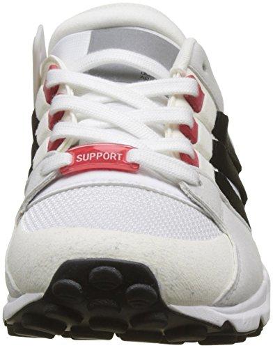 adidas Herren EQT Support RF Gymnastikschuhe Elfenbein (Ftwr White/core Black/scarlet)