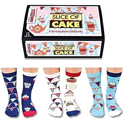 Piece of Cake calzini per le donne in Set da 6