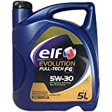 Elf 194910 Evolution Full-Tech FE 5W-30 Motoröl, 5 l