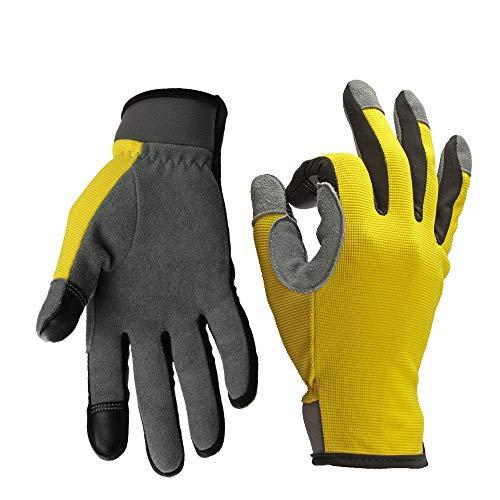 Guantes de motocicleta, guantes táctiles de dedo completo, ATV, senderismo, senderismo y...