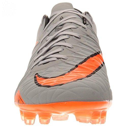 Nike Hypervenom Phinish FG, Scarpe da Calcio Uomo, UK Grau