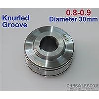 CHNsalescom Wire Feed Roller Knurled Groove 0.8-0.9 MUREX, ESAB, TECARC, PORTAMIG