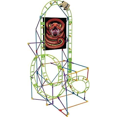 K'Nex Classics - Montaña Rusa Cobra's Coil, juego de construcción (Chicos 41205)