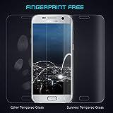 Duractron Displayschutz Panzerglas Schutzfolie Glas Folie mit extra Reinigungsset für Samsung Galaxy S7 Edge(Transparent) Bild 2