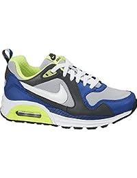 Nike Air Max Trax (GS) - Zapatillas para niño, color azul / negro / gris / lima
