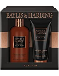 Baylis & Harding Grooming Duo Gift Set, Black Pepper and Ginseng