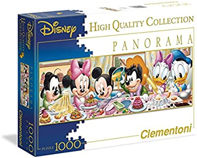 Clementoni - Puzzle de 1000 piezas, Panorama Disney, diseño Disney Babies (392636)