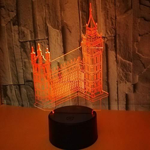 Lámparas 3D Iluminación LED De Luz Nocturna