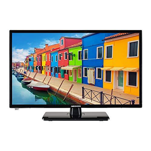 MEDION E12412 59,9 cm (23,6 Zoll) Full HD Fernseher (Triple Tuner, DVB-T2 HD, Mediaplayer, 12V KFZ Car-Adapter)