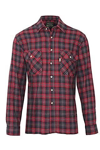 Mens Kilbeggan Luxury 100% Cotton Tartan Country Check Lumberjack Work