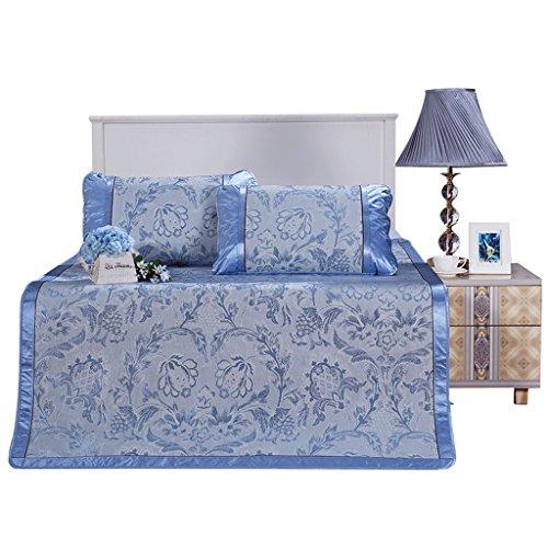 J&X Sommer doppelseitige kühle Matratzenmatten 1,8 m Bett Doppel 3-teilig Faltbare 1,5 m Klimaanlage Pad (Color : 180 * 200CM) -