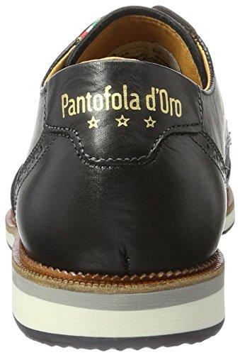 Pantofola d'Oro Herren Rubicon Uomo Low Sneaker Schwarz (Black)