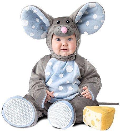Mädchen Maus Tier Welttag des Buches Woche Halloween Karneval Kostüm Outfit 6-24 Monate - 6-12 Months ()