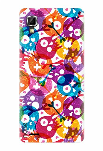 Noise Skulls Struck Printed Cover for Lenovo P780  available at amazon for Rs.229
