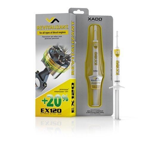 XADO Motor-Öl-Additiv EX120 mit Revitalizant® für Diesel-Motoren Motoröl Zusatz zur Reparatur...