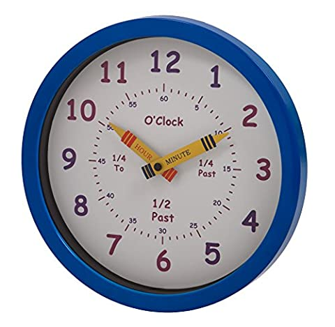 Unity 25 cm Henley Children's Learn the Time Wall Clock