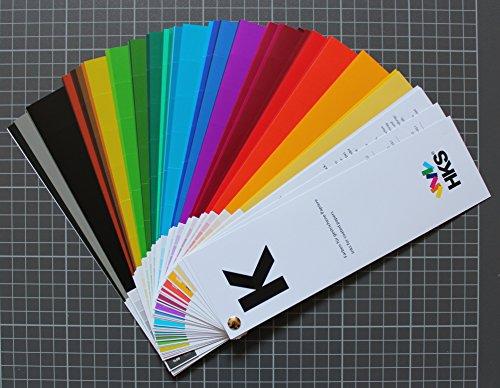 HKS®-Farbfächer (HKS®-K), für Kunstdruckpapiere / Bilderdruckpapiere, Druckerei, Mediengestalter, Vierfarbdruck, Offsetdruck