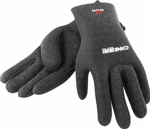 Cressi High Stretch 3.5 mm Gloves - Black, Small