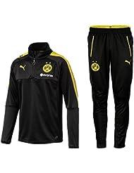 Puma BVB Borussia Dortmund Trainingsanzug mit Half Zip 2017 - 2018
