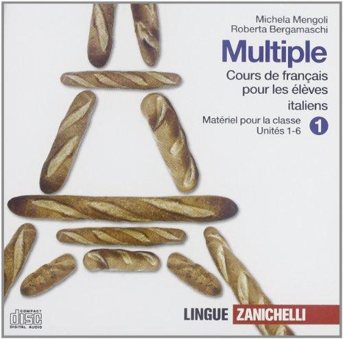 Multiple cours de franais pour les lves italiens. Per le Scuole superiori. 6 CD Audio
