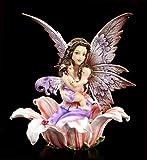 Fantasy Elfen Figur - Lisanya mit Kind im Arm | Dekofigur, Handbemalt